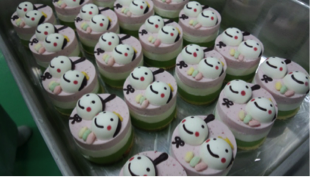 麻子さんが作るアイスケーキ